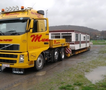Dépannage Munsters - Transport exceptionnel